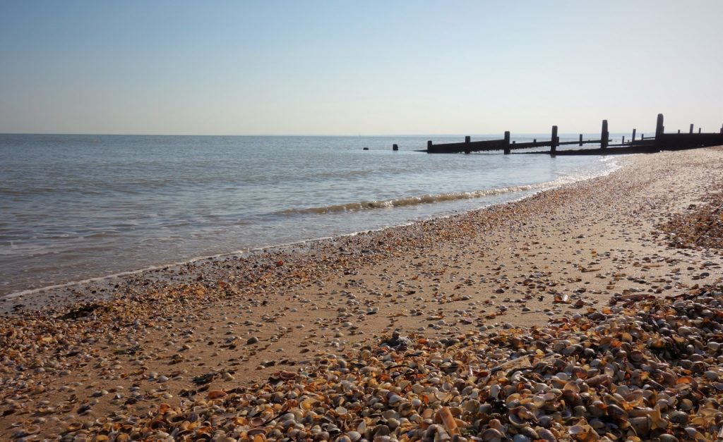 Coastal Road Trip, Leysdown-on-Sea, Beach, Leysdown Coastal Park, Isle of Sheppey, Kent, Thames Estuary