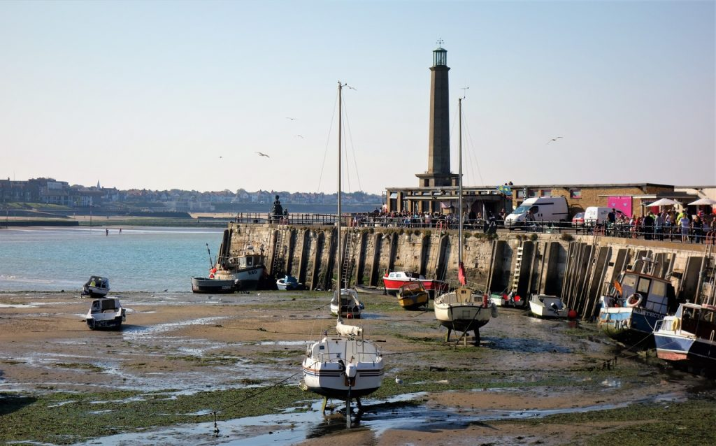 Coastal Road Trip, Margate, The Bay, Harbour, Lighthouse, Harbour Arm