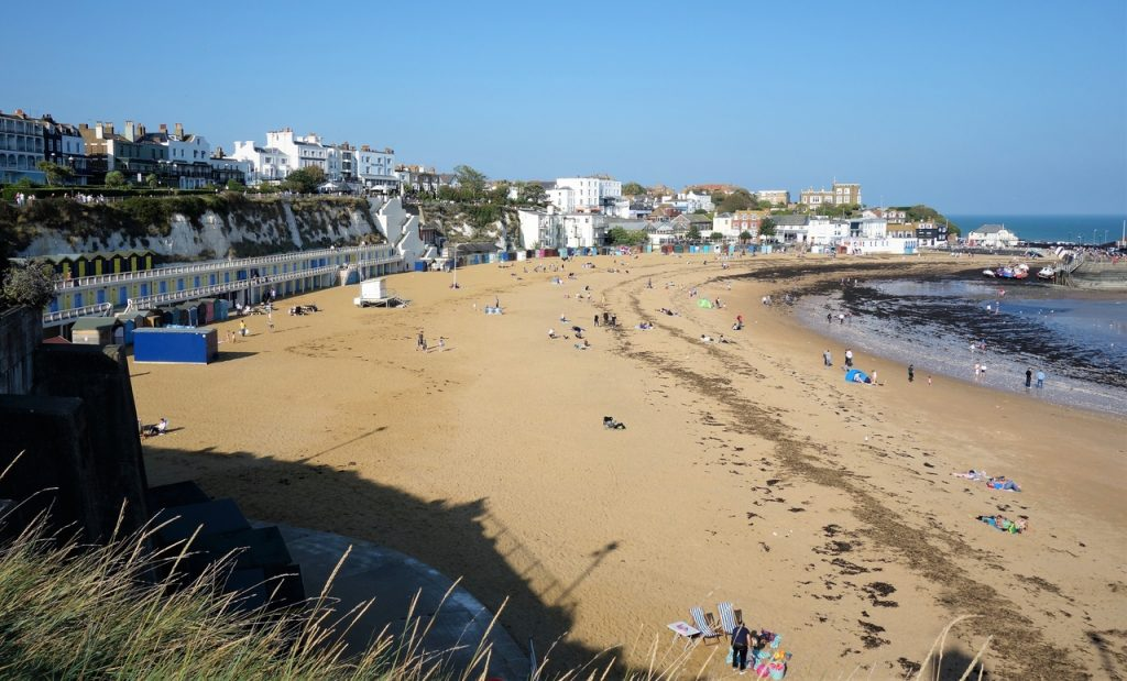 Coastal Road Trip, Broadstairs, Beach, Viking Bay, Harbour
