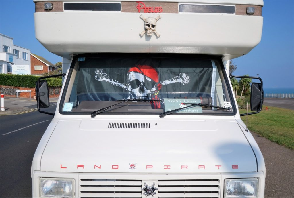 Coastal Road Trip, Ramsgate, Pirate Van, Victoria Parade