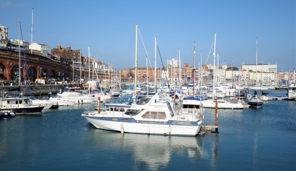 Coastal Road Trip, Ramsgate, Yacht Marina, Harbour, Boats