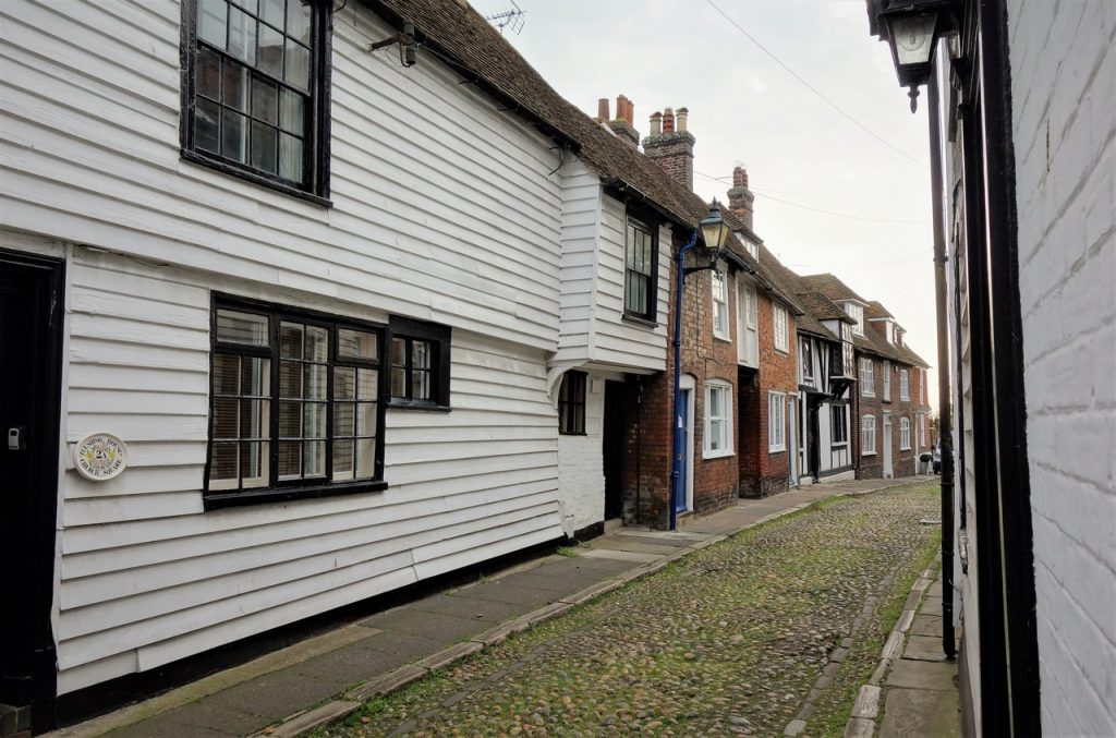 Coastal Road Trip, Rye, Cobbled Street