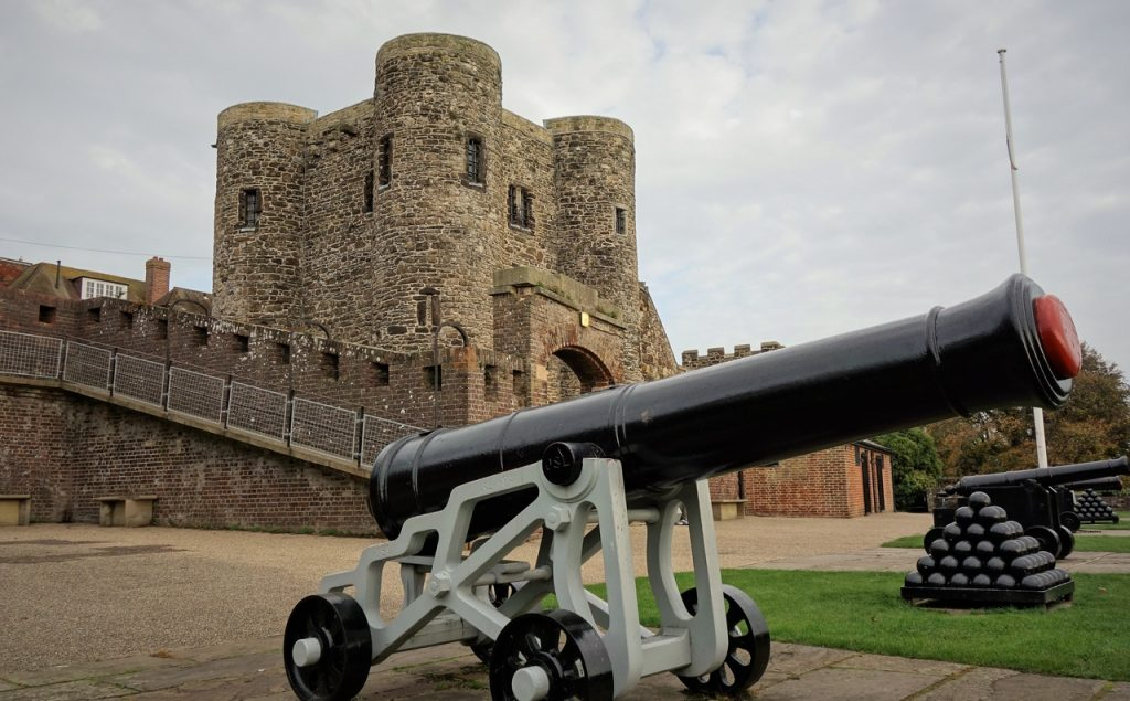 Coastal Road Trip, Rye, Ypres Tower