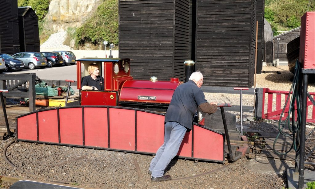 Coastal Road Trip, Hastings, The Stade, Net Shops, Hastings Miniature Railway, Turntable, The Old Town