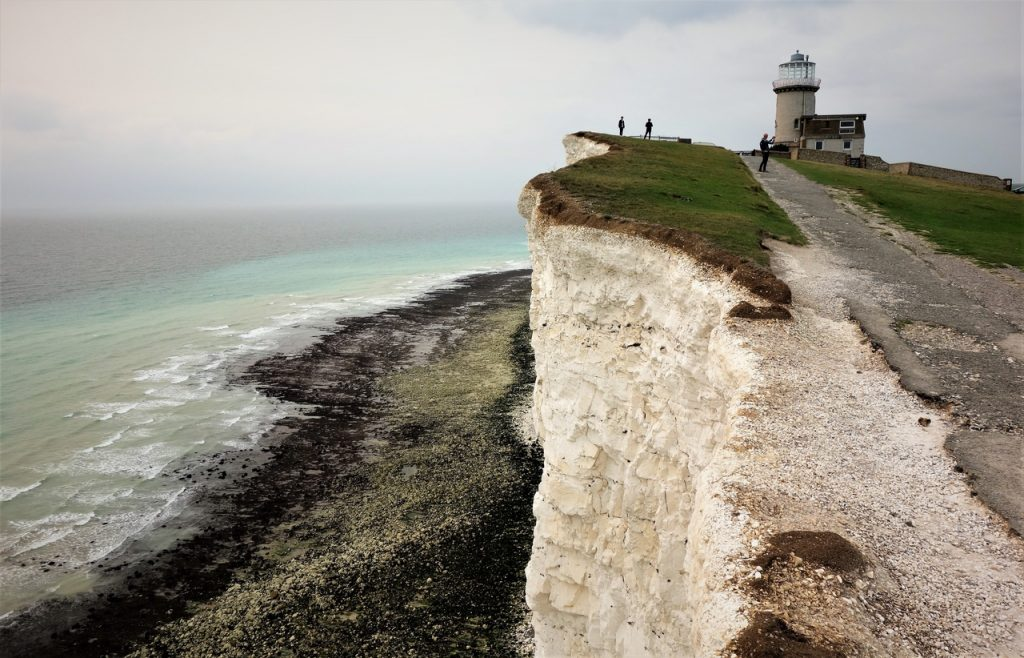 Coastal Road Trip, Beachy Head, Belle Tout Lighthouse, Cliff