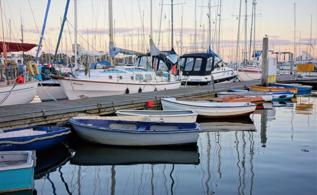 Coastal Road Trip, Lymington, Harbour, Marina, Yachts, Boats