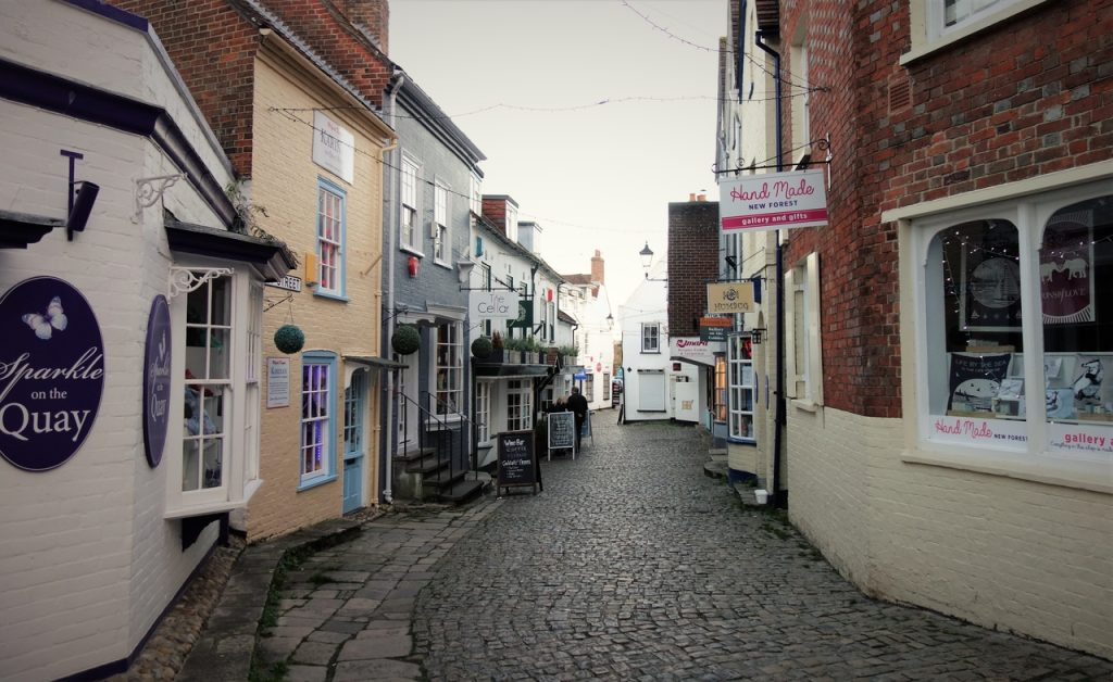 Coastal Road Trip, Lymington, Quay Street