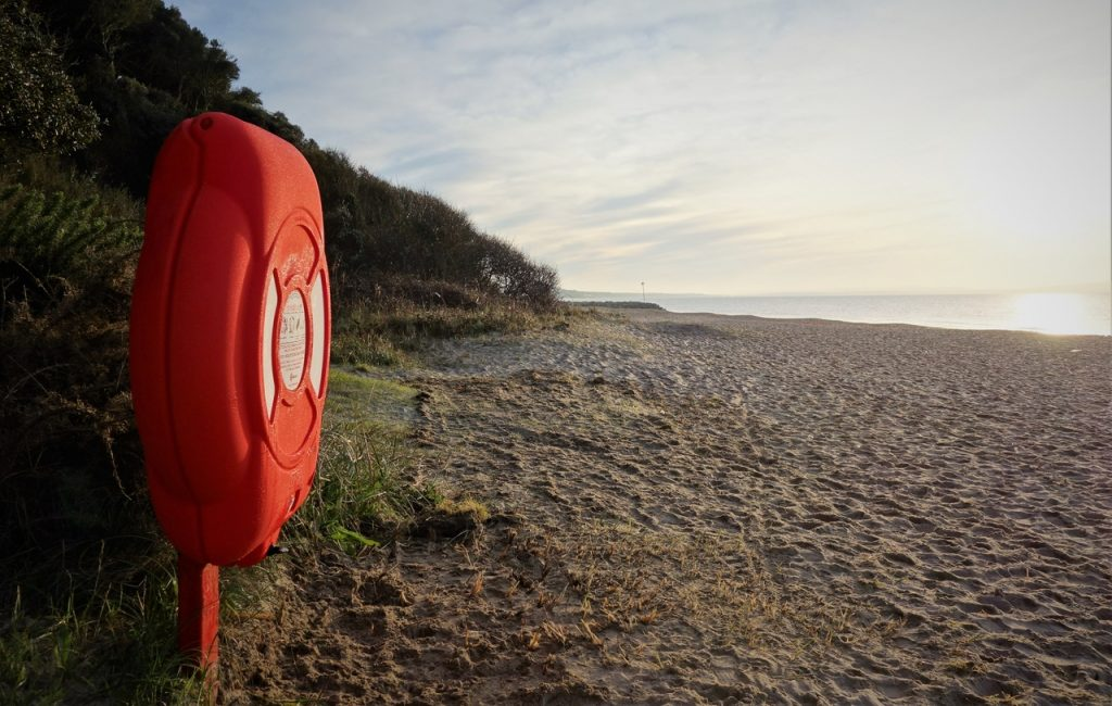 Coastal Road Trip, Highcliffe, Beach, Lifesaver, Steamer Point Nature Reserve
