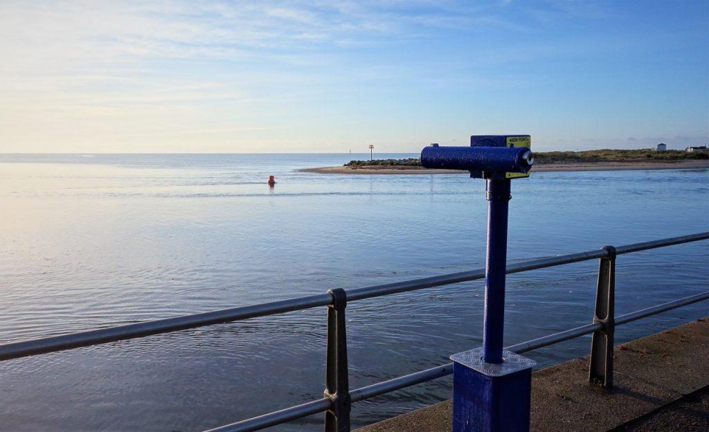 Coastal Road Trip, Mudeford Quay, Telescope, Mudeford Sandbank, Hengistbury Head