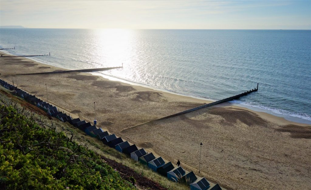 Coastal Road Trip, Boscombe, Beach, Overcliff Drive, Beach Huts