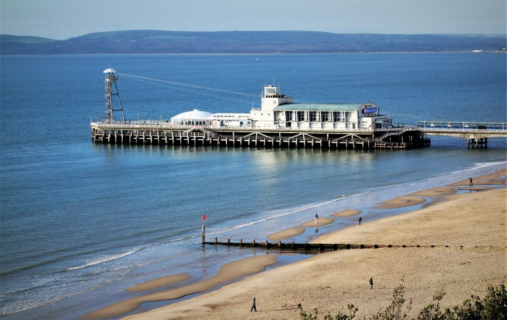 Coastal Road Trip, Bournemouth, Pier, Beach