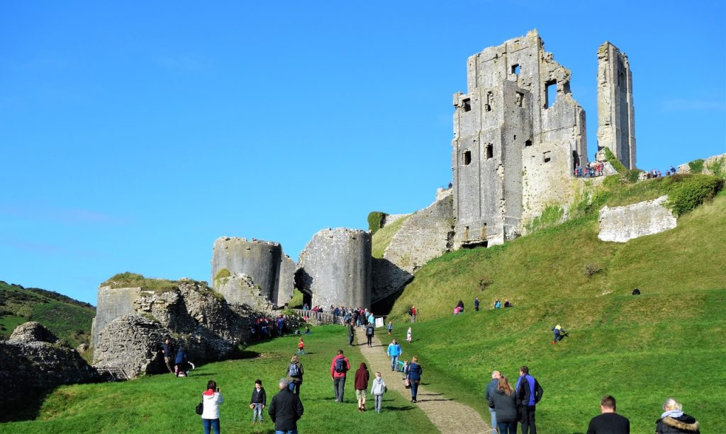 Coastal Road Trip, Corfe Castle