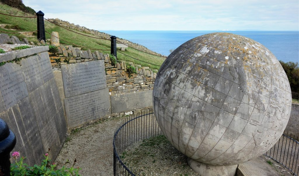 Coastal Road Trip, The Great Globe, Durlston National Nature Reserve, Durlston Castle