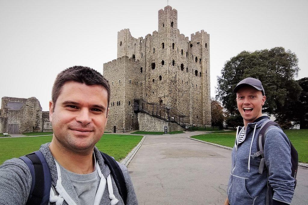 Coastal Road Trip, Rochester, Rochester Castle, Julian, Jarno