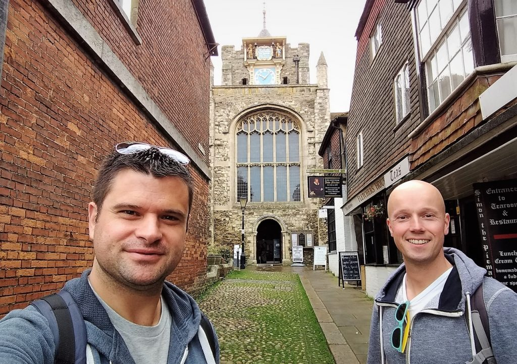 Coastal Road Trip, Rye, St Mary Church, Cobbled Street, Julian, Jarno