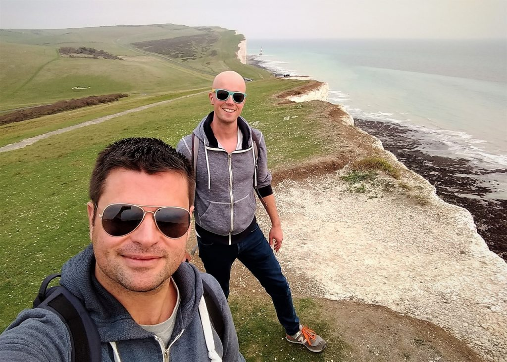 Coastal Road Trip, Beachy Head, Beachy Head Lighthouse, Cliffs, Julian, Jarno
