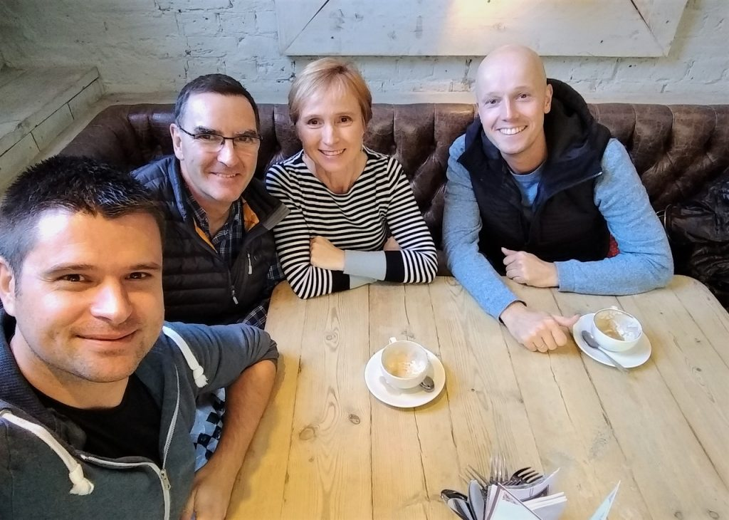 Coastal Road Trip, Chichester, Bill's, Coffee, Sister, Julian, Jarno
