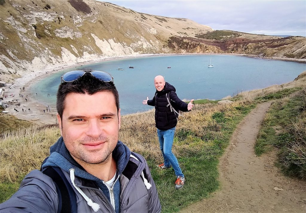 Coastal Road Trip, Lulworth, Cove, Julian, Jarno