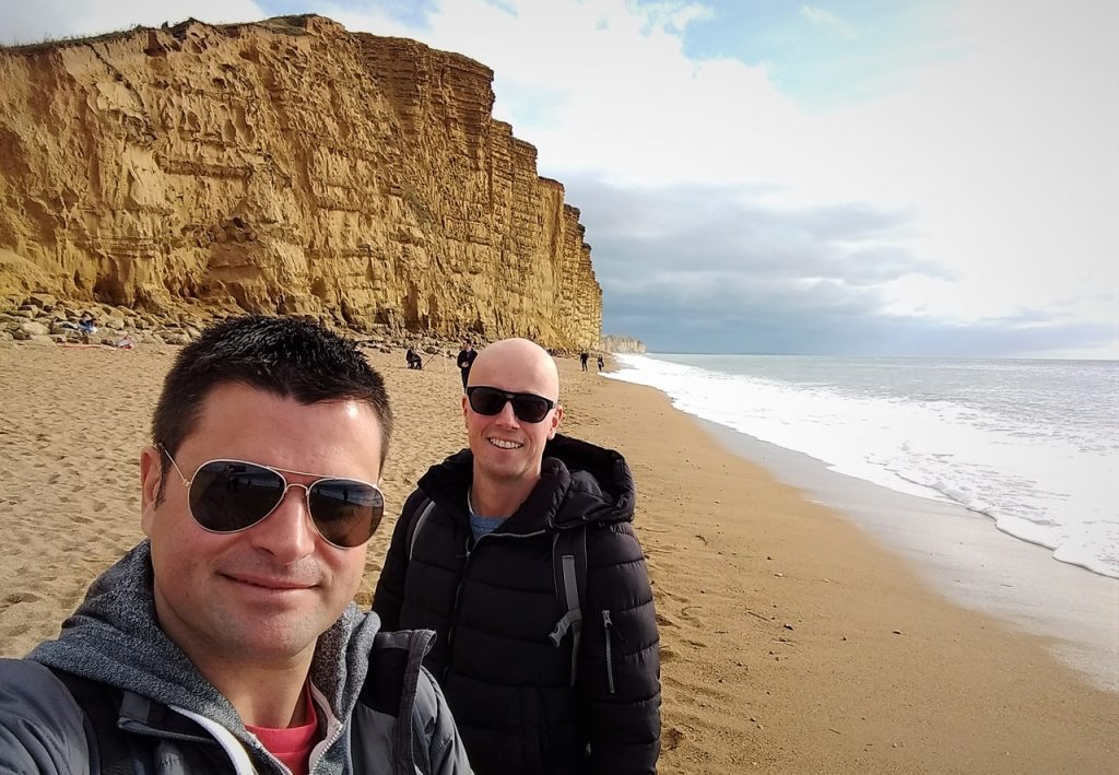 Coastal Road Trip, West Bay, Beach, Cliffs, Julian, Jarno