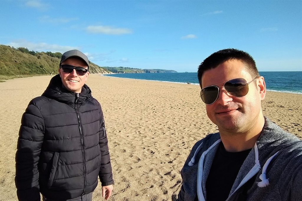 Coastal Road Trip, Slapton Sands, Strete Gate Beach, Devon, Julian, Jarno