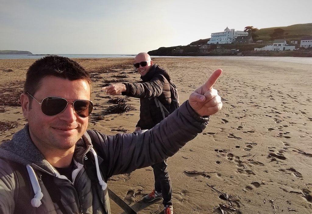 Coastal Road Trip, Burgh Island, Hotel, Agatha Christie, Bigbury Beach, Pilchard Inn, Julian, Jarno, Dusk, Devon