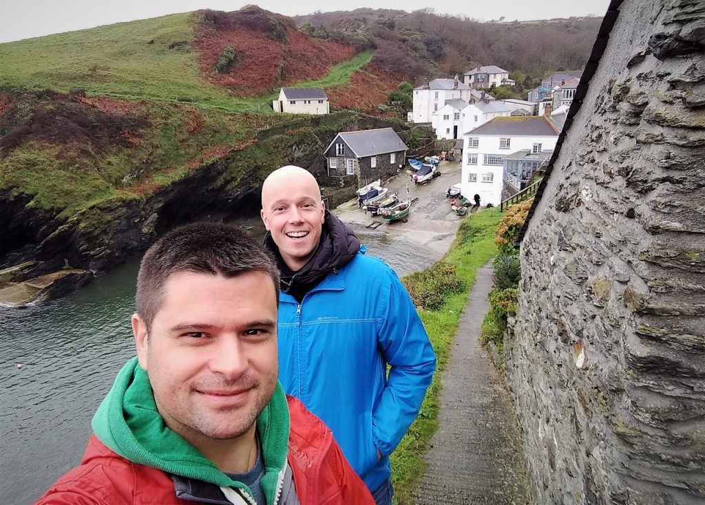 Coastal Road Trip, Portloe, Harbour, Julian, Jarno