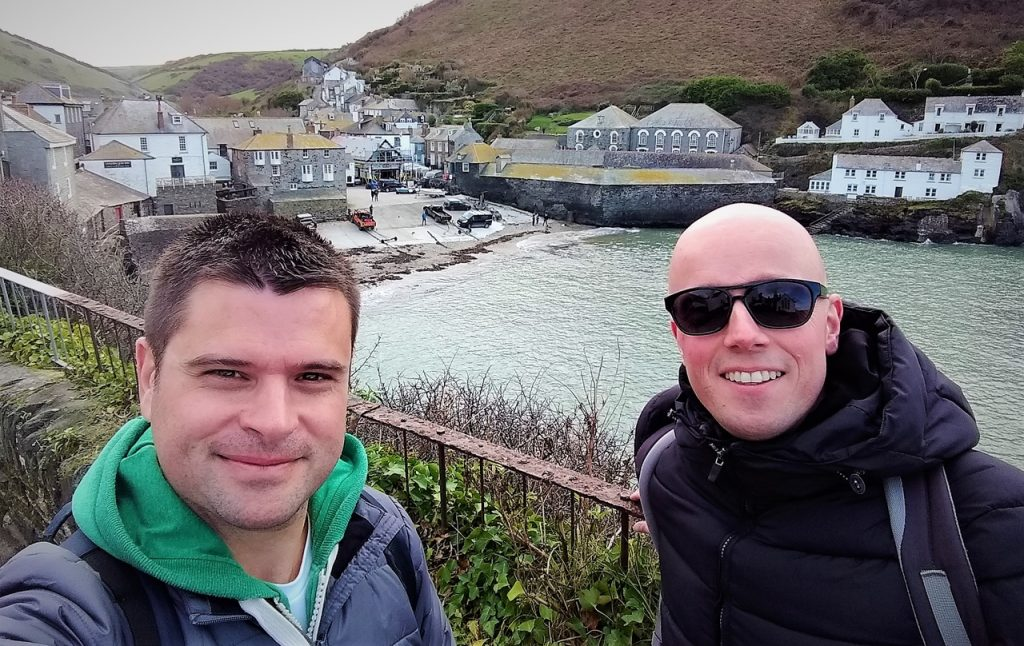 Coastal Road Trip, Port Isaac, Julian, Jarno