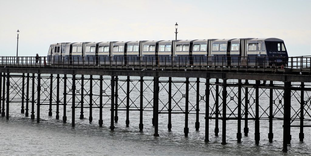Coastal Road Trip, Southend-on-Sea, Pier, Train