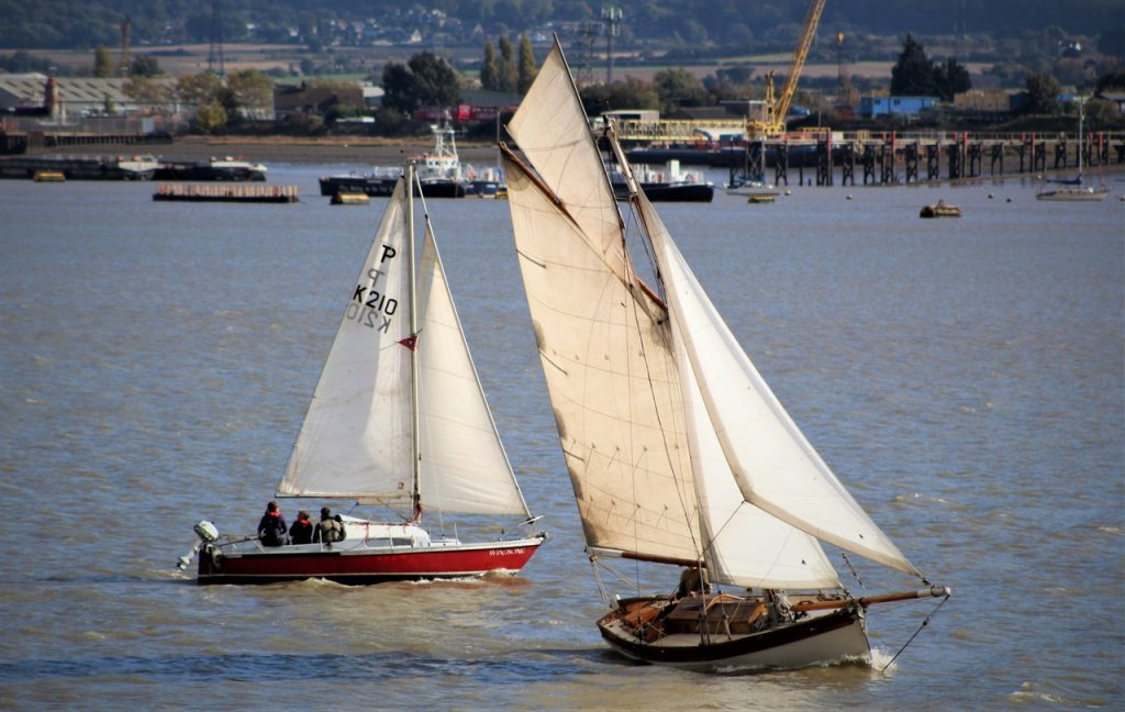 Coastal Road Trip, Tilbury, Tilbury Fort, Boats, Yachts, Thames, Gravesend