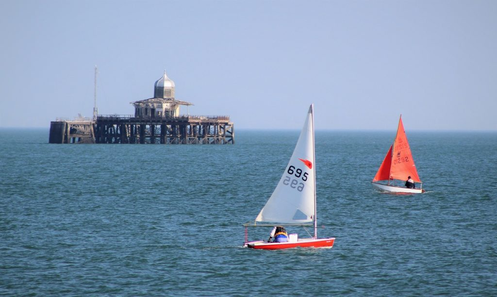 Coastal Road Trip, Herne Bay, Pier, Pier Head, Boats