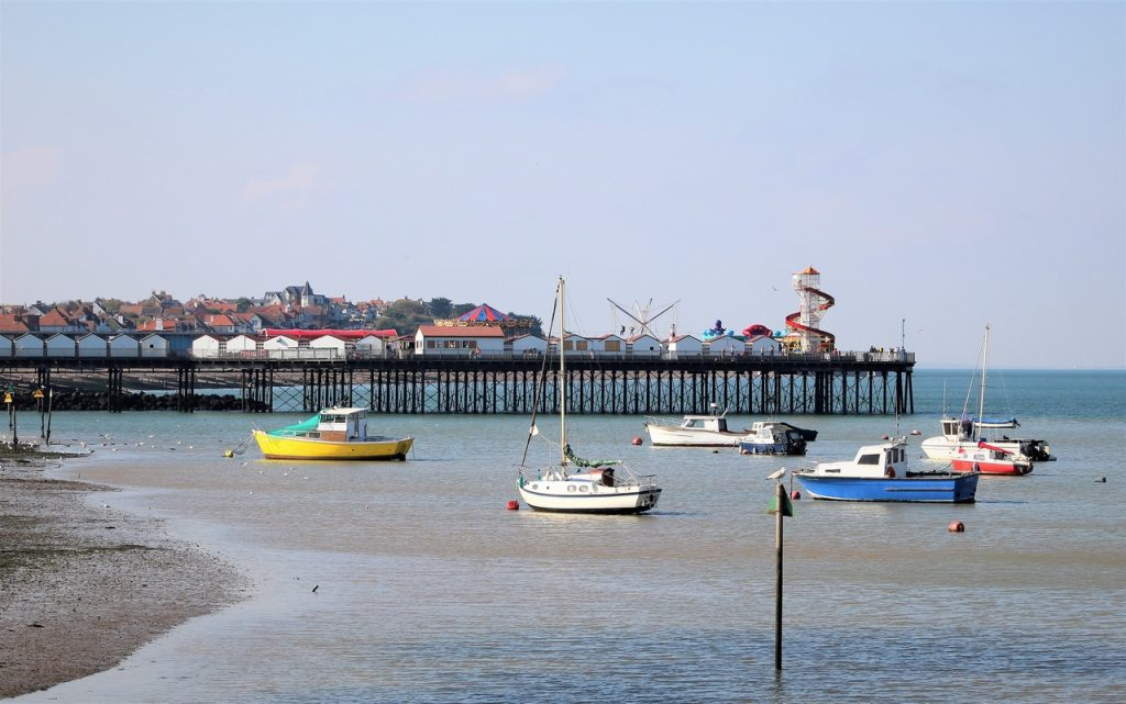 Coastal Road Trip, Herne Bay, Pier, Boats