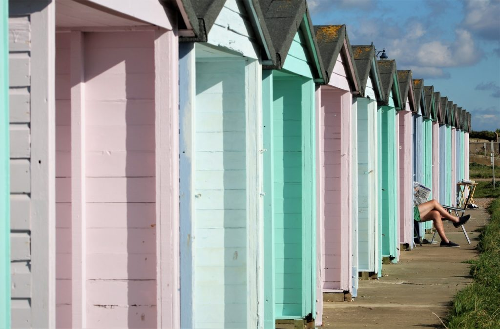 Coastal Road Trip, Eastney, Beach, Beach Huts, Esplanade