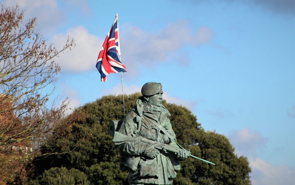 Coastal Road Trip, Eastney, Royal Marines Museum, Statue, Sculpture, Esplanade