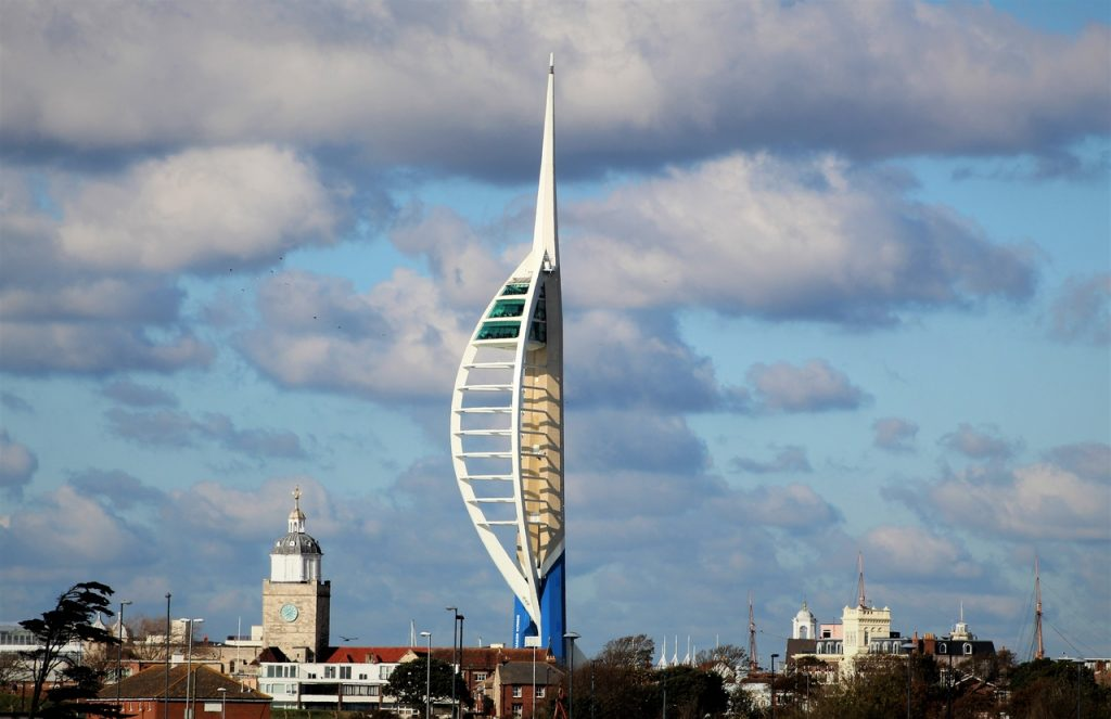 Coastal Road Trip, Portsmouth, Spinnaker Tower