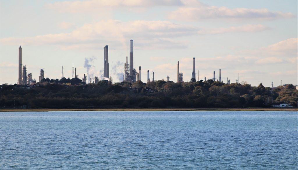 Coastal Road Trip, Fawley, Refinery, Calshot Spit,