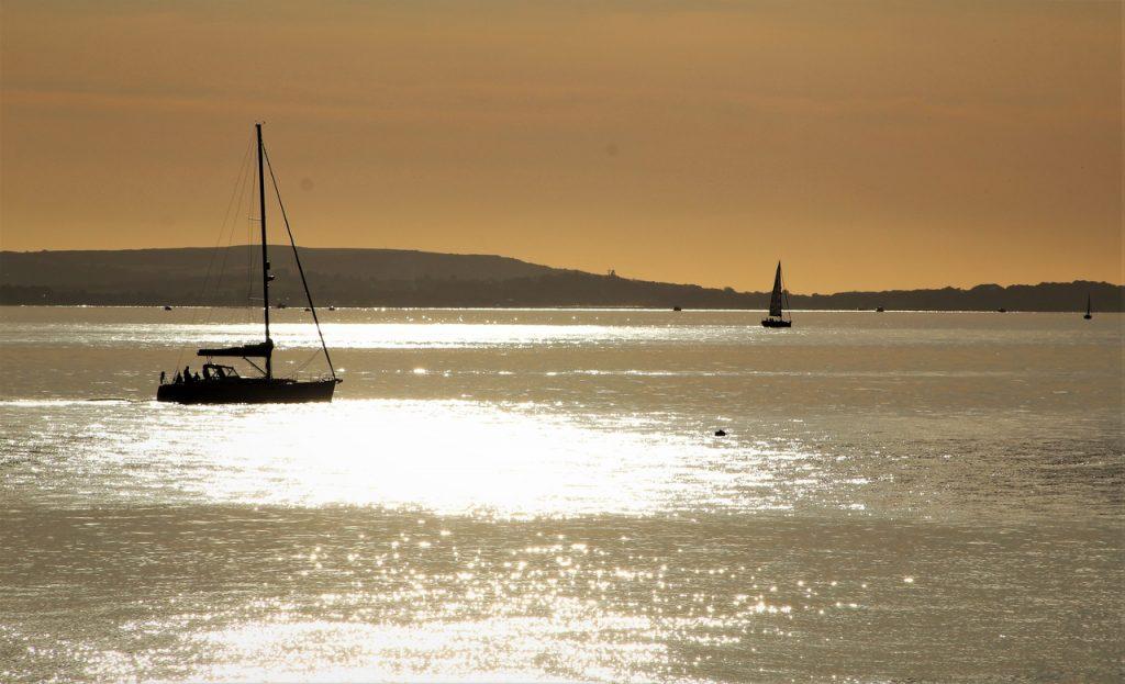 Coastal Road Trip, Lepe, Lepe Country Park, Solent, Yacht