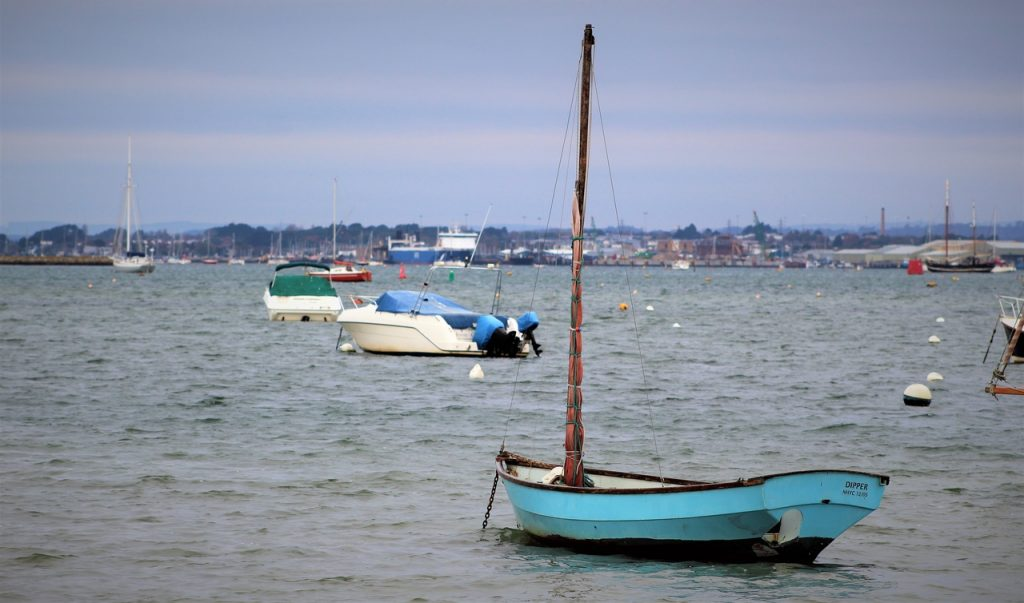 Coastal Road Trip, Sanbanks, Poole Harbour, Boats