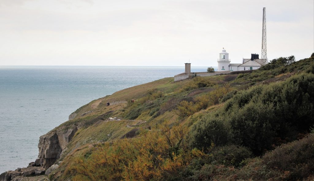 Coastal Road Trip, Anvil Point Lighthouse, Durlston National Nature Reserve
