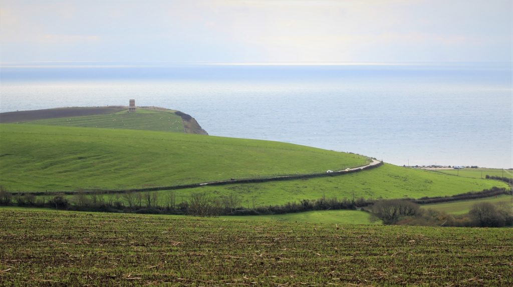 Coastal Road Trip, Kimmeridge Bay, Smedmore Estate, Clavell Tower