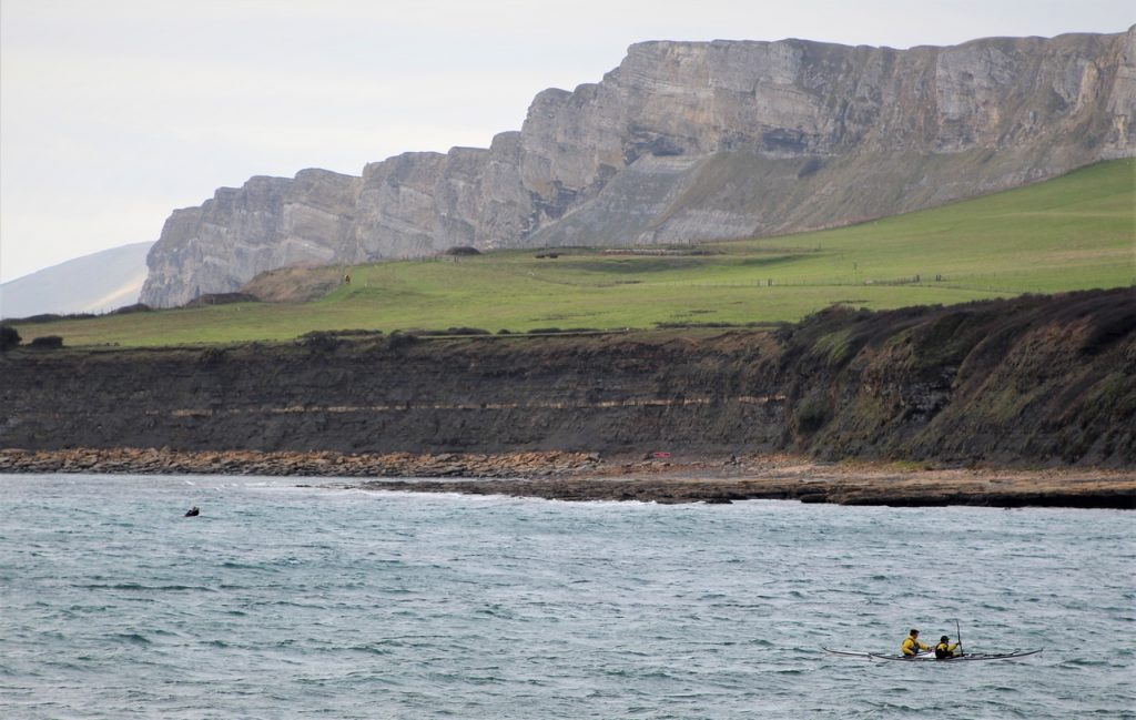 Coastal Road Trip, Kimmeridge Bay, Canoe, Cliffs, Beach, Smedmore Estate,