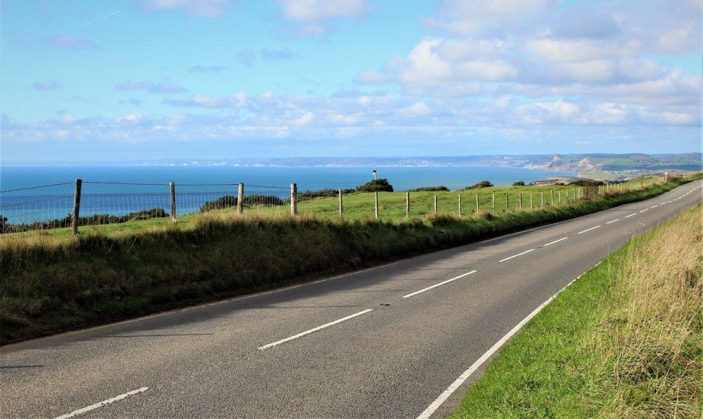 Coastal Road Trip, Abbotsbury, B3157, Abbotsbury Hill, Swyre