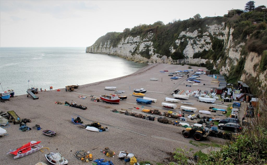 Coastal Road Trip, Beer, Beach, Dorset, Seaton