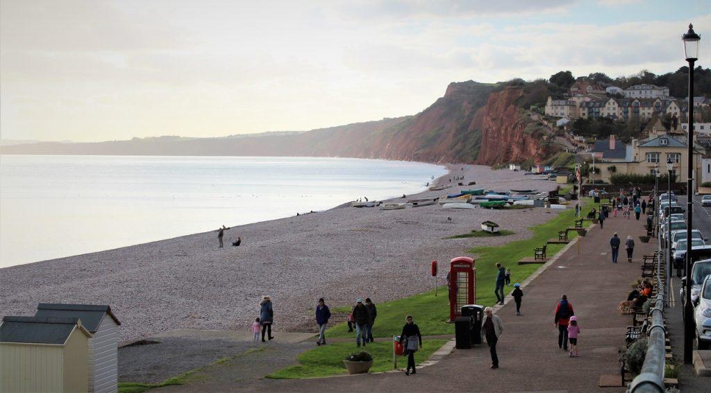 Coastal Road Trip, Budleigh Salterton, Beach, Promenade