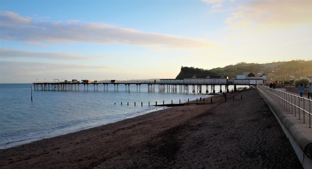 Coastal Road Trip, Teignmouth, Pier, Beach