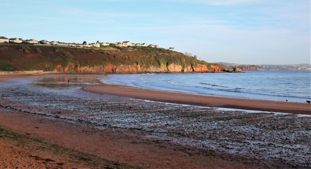 Coastal Road Trip, Broadsands Beach, Torbay, Devon