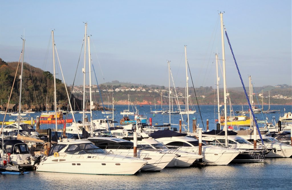 Coastal Road Trip, Brixham, Marina, Yachts, Boats