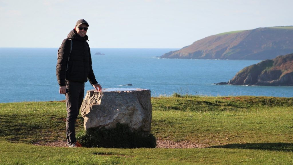 Coastal Road Trip, Berry Head, Brixham, Sharkham Point, St Mary's Bay, Compass Statue, Jarno