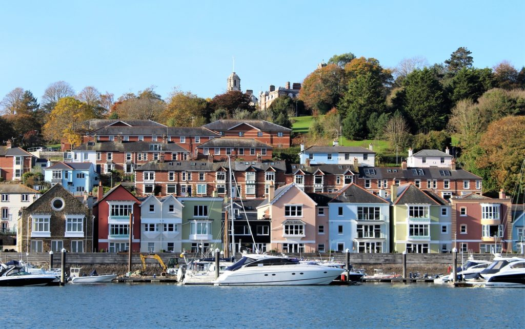 Coastal Road Trip, Britannia Royal Naval College, Dartmouth, Higher Ferry, Kingswear - Dartmouth, River Dart