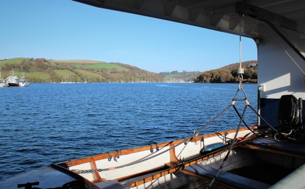 Coastal Road Trip, Dartmouth, Higher Ferry, Kingswear - Dartmouth, River Dart