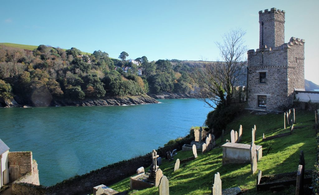 Coastal Road Trip, Dartmouth Castle, Saint Petrox Church, River Dart, Kingswear